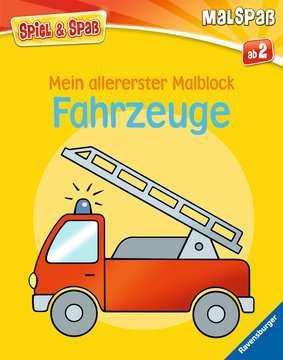 55790 Malbücher und Bastelbücher Mein allererster Malblock: Fahrzeuge von Ravensburger 1