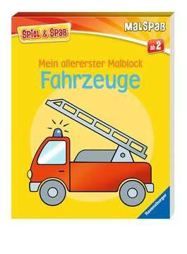 55790 Malbücher und Bastelbücher Mein allererster Malblock: Fahrzeuge von Ravensburger 2