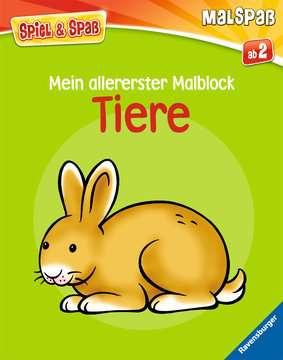 55792 Malbücher und Bastelbücher Mein allererster Malblock: Tiere von Ravensburger 1