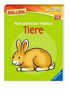55792 Malbücher und Bastelbücher Mein allererster Malblock: Tiere von Ravensburger 2