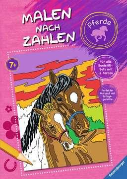 Malen nach Zahlen: Pferde Kinderbücher;Malbücher und Bastelbücher - Bild 1 - Ravensburger