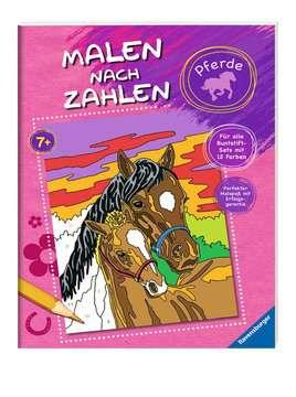 Malen nach Zahlen: Pferde Kinderbücher;Malbücher und Bastelbücher - Bild 2 - Ravensburger