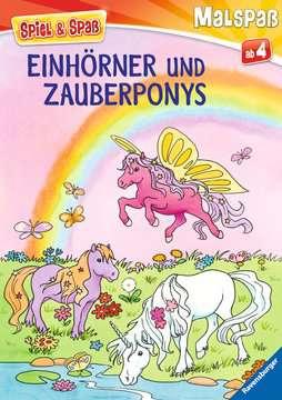 Einhörner und Zauberponys Kinderbücher;Malbücher und Bastelbücher - Bild 1 - Ravensburger