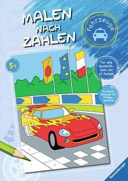 Malen nach Zahlen: Fahrzeuge Kinderbücher;Malbücher und Bastelbücher - Bild 1 - Ravensburger