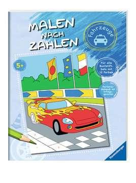 Malen nach Zahlen: Fahrzeuge Kinderbücher;Malbücher und Bastelbücher - Bild 2 - Ravensburger