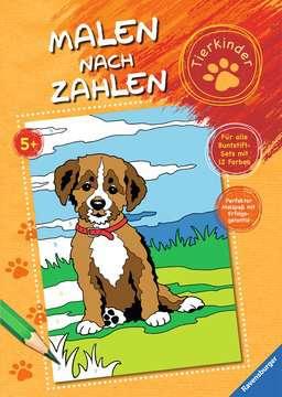 Malen nach Zahlen: Tierkinder Kinderbücher;Malbücher und Bastelbücher - Bild 1 - Ravensburger