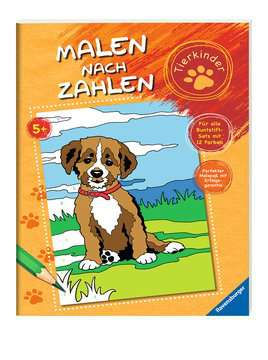 Malen nach Zahlen: Tierkinder Kinderbücher;Malbücher und Bastelbücher - Bild 2 - Ravensburger