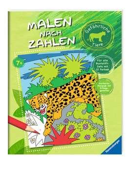 Malen nach Zahlen: Gefährliche Tiere Kinderbücher;Malbücher und Bastelbücher - Bild 2 - Ravensburger
