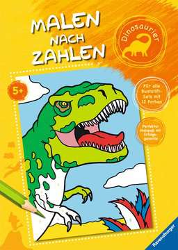 Malen nach Zahlen: Dinosaurier Kinderbücher;Malbücher und Bastelbücher - Bild 1 - Ravensburger