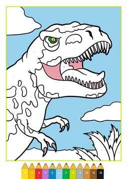 Malen nach Zahlen: Dinosaurier Kinderbücher;Malbücher und Bastelbücher - Bild 4 - Ravensburger