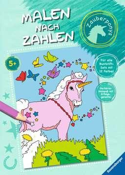 Malen nach Zahlen: Zauberponys Kinderbücher;Malbücher und Bastelbücher - Bild 1 - Ravensburger