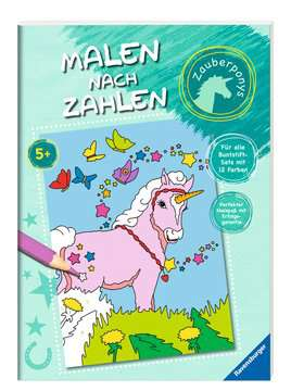 Malen nach Zahlen: Zauberponys Kinderbücher;Malbücher und Bastelbücher - Bild 2 - Ravensburger