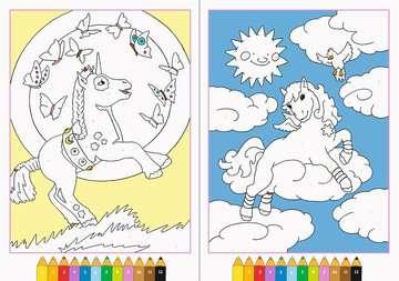 Malen nach Zahlen: Zauberponys Kinderbücher;Malbücher und Bastelbücher - Bild 3 - Ravensburger
