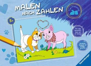 Malen nach Zahlen: Tierfreunde Kinderbücher;Malbücher und Bastelbücher - Bild 1 - Ravensburger
