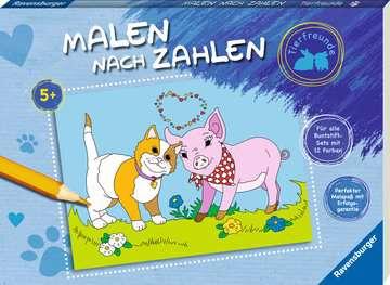 Malen nach Zahlen: Tierfreunde Kinderbücher;Malbücher und Bastelbücher - Bild 2 - Ravensburger