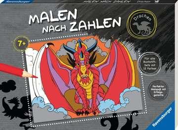 55867 Malbücher und Bastelbücher Malen nach Zahlen: Drachen von Ravensburger 2