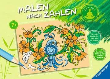 Malen nach Zahlen: Zen-Art Kinderbücher;Malbücher und Bastelbücher - Bild 1 - Ravensburger