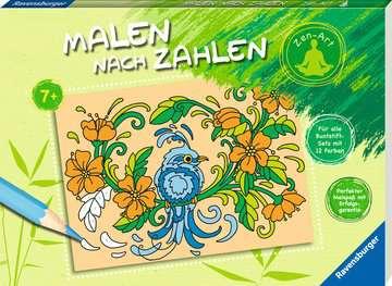 Malen nach Zahlen: Zen-Art Kinderbücher;Malbücher und Bastelbücher - Bild 2 - Ravensburger