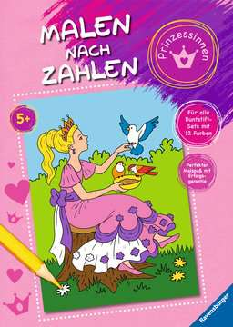 55870 Malbücher und Bastelbücher Malen nach Zahlen: Prinzessinnen von Ravensburger 1