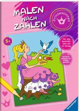 55870 Malbücher und Bastelbücher Malen nach Zahlen: Prinzessinnen von Ravensburger 2