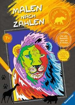 Malen nach Zahlen: Wilde Tiere Kinderbücher;Malbücher und Bastelbücher - Bild 1 - Ravensburger