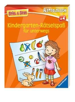 55983 Lernbücher und Rätselbücher Kindergarten-Rätselspaß für unterwegs von Ravensburger 2