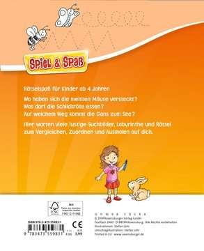 55983 Lernbücher und Rätselbücher Kindergarten-Rätselspaß für unterwegs von Ravensburger 3