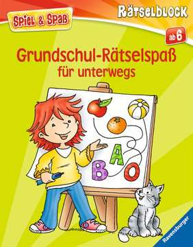 55985 Lernbücher und Rätselbücher Grundschul-Rätselspaß für unterwegs von Ravensburger 1