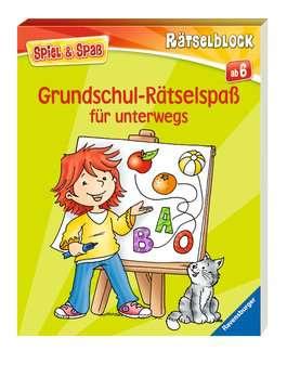 55985 Lernbücher und Rätselbücher Grundschul-Rätselspaß für unterwegs von Ravensburger 2