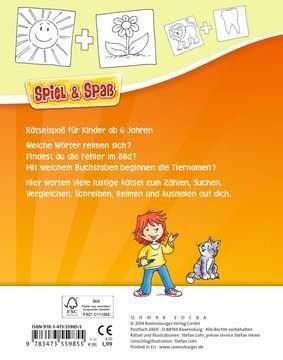 55985 Lernbücher und Rätselbücher Grundschul-Rätselspaß für unterwegs von Ravensburger 3