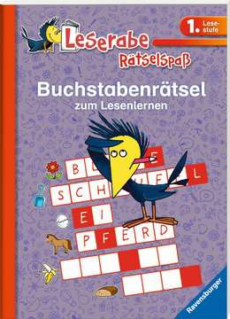 55990 Lernbücher und Rätselbücher Buchstabenrätsel zum Lesenlernen (1. Lesestufe) von Ravensburger 2