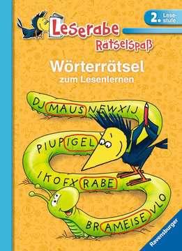 55991 Lernbücher und Rätselbücher Wörterrätsel zum Lesenlernen (2. Lesestufe) von Ravensburger 1