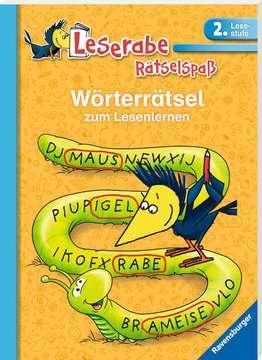 55991 Lernbücher und Rätselbücher Wörterrätsel zum Lesenlernen (2. Lesestufe) von Ravensburger 2