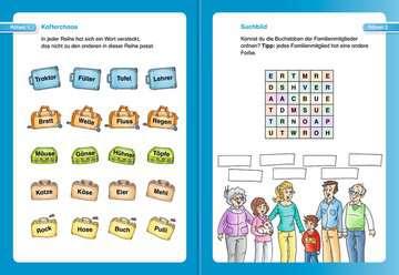 Wörterrätsel zum Lesenlernen (2. Lesestufe) Kinderbücher;Lernbücher und Rätselbücher - Bild 4 - Ravensburger