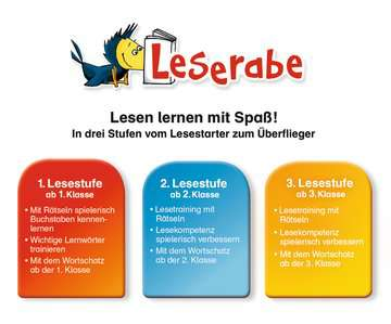 55991 Lernbücher und Rätselbücher Wörterrätsel zum Lesenlernen (2. Lesestufe) von Ravensburger 5