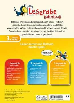 55992 Lernbücher und Rätselbücher Leserätsel zum Lesenlernen (3. Lesestufe) von Ravensburger 3