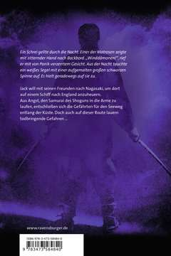 58484 Abenteuerbücher Samurai, Band 7: Der Ring des Windes von Ravensburger 3