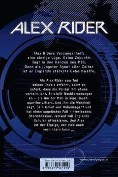 58522 Abenteuerbücher Alex Rider, Band 1: Stormbreaker von Ravensburger 3