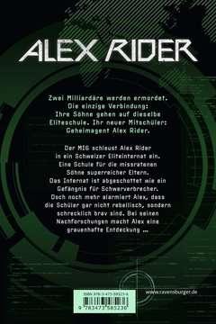 58523 Abenteuerbücher Alex Rider, Band 2: Gemini-Project von Ravensburger 3