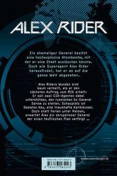 58524 Abenteuerbücher Alex Rider, Band 3: Skeleton Key von Ravensburger 3