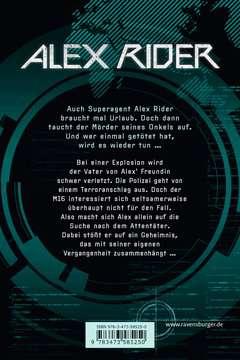58525 Abenteuerbücher Alex Rider, Band 4: Eagle Strike von Ravensburger 3