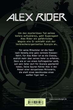 58526 Abenteuerbücher Alex Rider, Band 5: Scorpia von Ravensburger 3