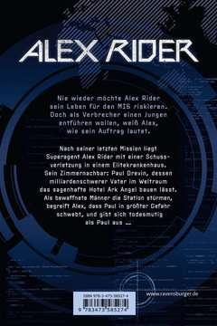 58527 Abenteuerbücher Alex Rider, Band 6: Ark Angel von Ravensburger 3