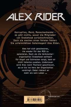 58545 Abenteuerbücher Alex Rider, Band 7: Snakehead von Ravensburger 3