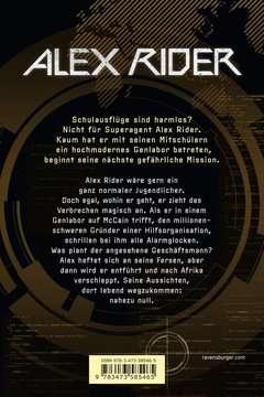 58546 Abenteuerbücher Alex Rider, Band 8: Crocodile Tears von Ravensburger 3