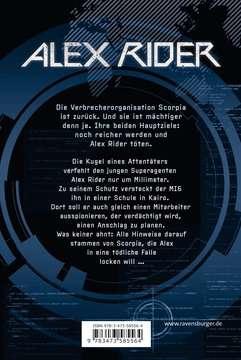 Alex Rider, Band 9: Scorpia Rising Jugendbücher;Abenteuerbücher - Bild 3 - Ravensburger