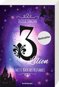 58566 Fantasy und Science-Fiction 3 Lilien, Das zweite Buch des Blutadels von Ravensburger 2