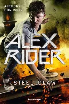 58582 Abenteuerbücher Alex Rider, Band 10: Steel Claw von Ravensburger 1