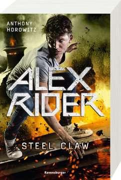 58582 Abenteuerbücher Alex Rider, Band 10: Steel Claw von Ravensburger 2