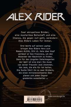58582 Abenteuerbücher Alex Rider, Band 10: Steel Claw von Ravensburger 3